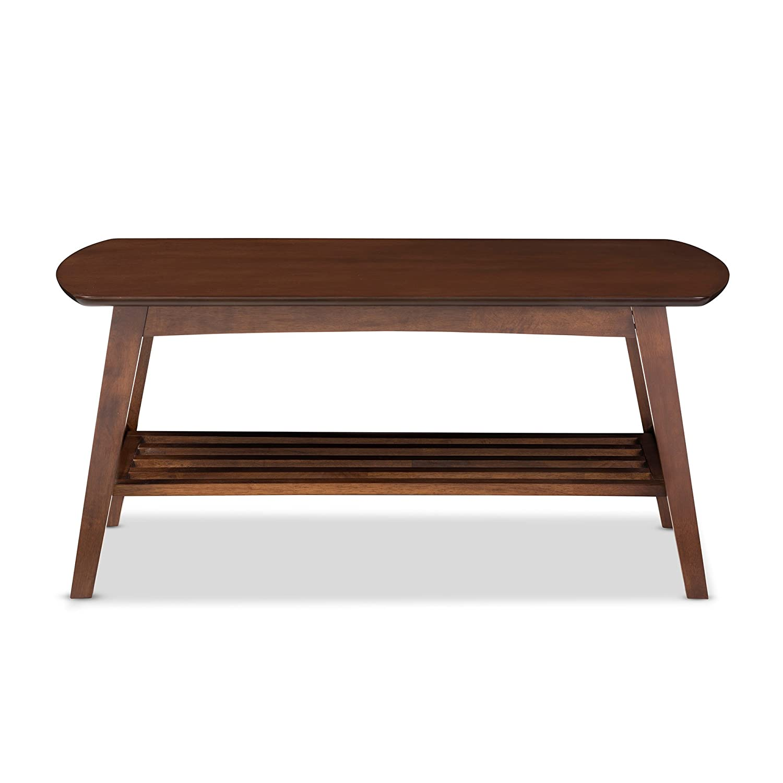 Superior Amazon.com: Baxton Studio Sacramento Mid Century Modern Scandinavian Style Coffee  Table, Dark Walnut: Kitchen U0026 Dining