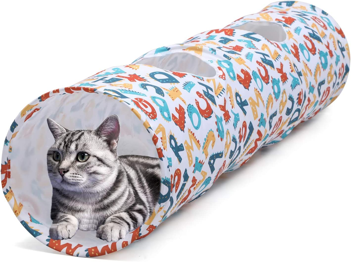 Collapsible Cat Kitty Tunnel Pet Toys Play Tunnels for Cat Kitty Puppy Rabbit Kitten D/&Y Cat Tunnel for Indoor