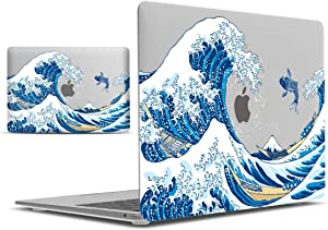 IBENZER MacBook Air 13 Inch Case 2020 2019 2018 New Version A2179 A1932, Hard Shell Case Cover for Apple Mac Air 13 Retina with Touch ID, Fuji, MAD-T13FUJI