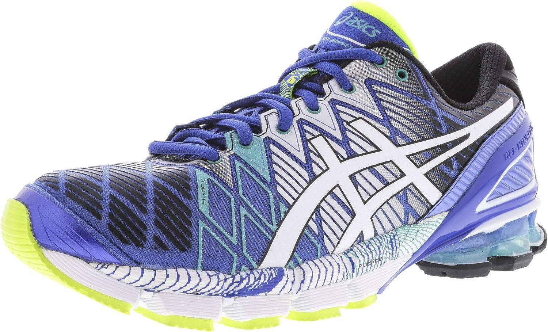 ASICS Men's Gel Kinsei 5 BlueWhite Emerald Green Ankle High