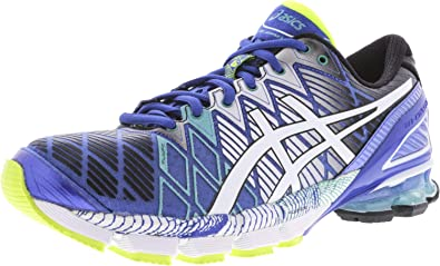 ASICS Mens Gel-Kinsei 5 Blue/White Emerald Green Ankle-High Running Shoe - 7M: Asics: Amazon.es: Zapatos y complementos