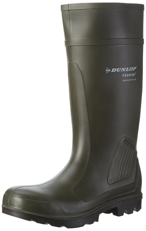 Grün (Grün 08) Dunlop C462933 S5 PUROFORT Unisex-Erwachsene Langschaft Gummistiefel