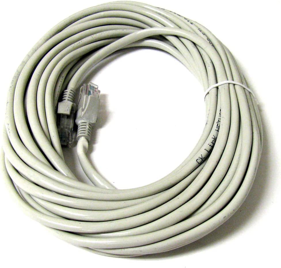 FYL 50FT 50 FT RJ45 CAT5 CAT 5 HIGH SPEED ETHERNET LAN NETWORK GREY PATCH CABLE