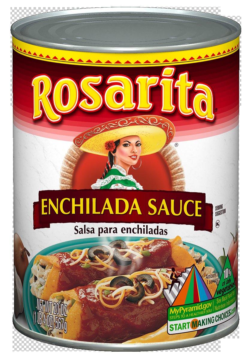 Rosarita Enchilada Sauce, 20 oz, 12 Pack by Rosarita