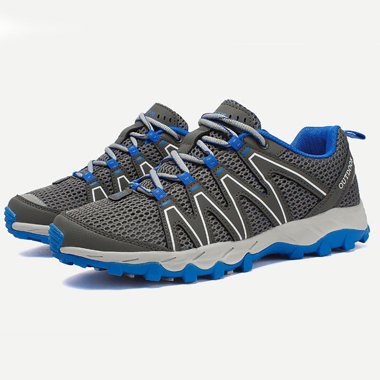 d03b148e1695 Odema Ultrathin2.0 Mesh Men Zapatos de agua de secado rápido Aqua Shoes  Lace up Outdoor Sneakers Hiking Shoes 1-gris