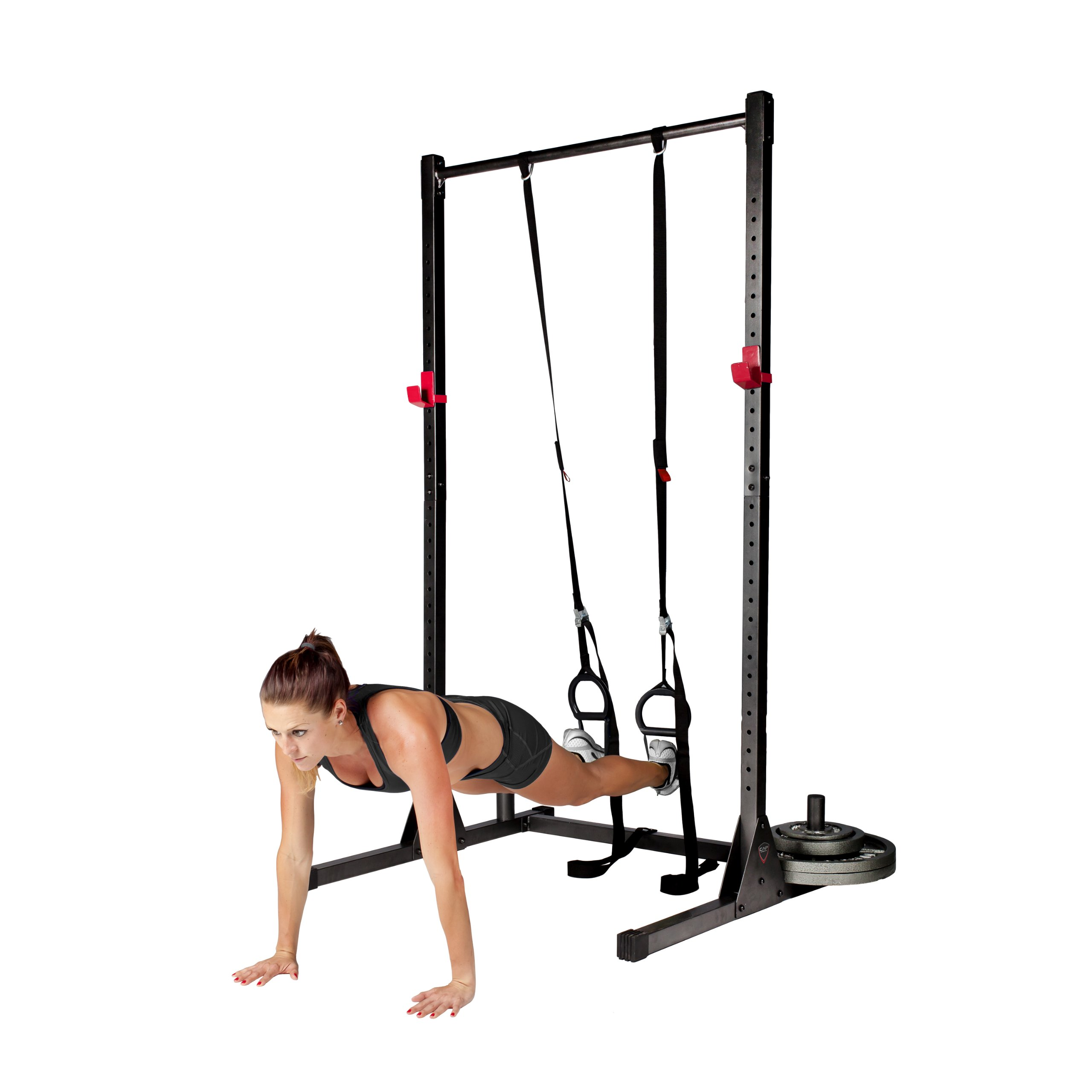 CAP Barbell Power Rack Exercise Stand, Multiple Colors by CAP Barbell (Image #6)
