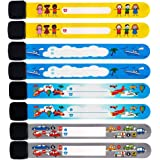 Luchild ID Bands for Kids Waterproof ID Wristband Safety Wristband Name Wrist Bands for Labeling