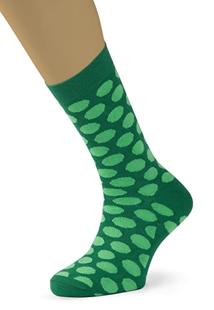 Lemonade Attack Green Dots, Calcetines para Hombre, Multicolor (Verde), 40/