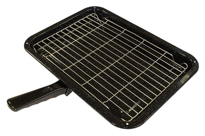 Bandeja y rejilla universal duraderas para horno y estufa con ...
