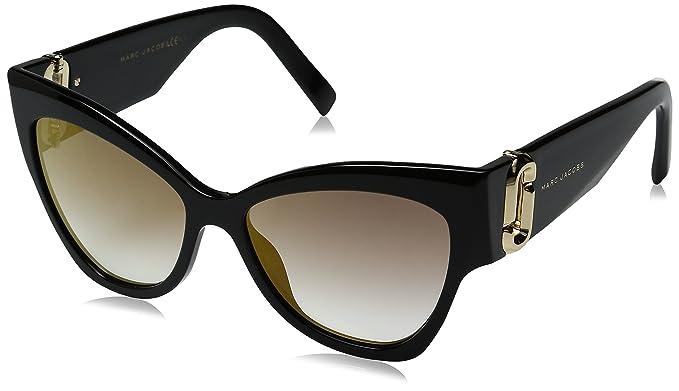 Marc Jacobs Marc 109/S FQ 807 54 Gafas de Sol, Negro (Black ...