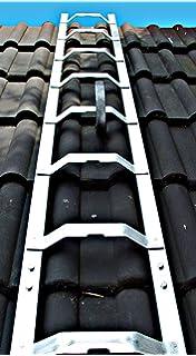 Super Kaminkehrerleiter Dachleiter Aluminium 21 Sprossen 5,88m: Amazon IL01