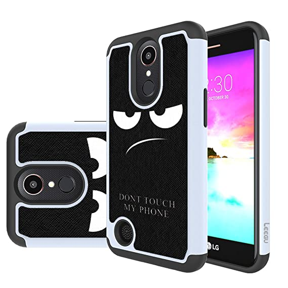 size 40 32fe9 aa558 LG K20 V Case,LG K20 Plus Case,LG K20V Case,LG Harmony Case, LG Grace LTE  Case, LEEGU [Shock Absorption] Dual Layer Heavy Duty Protective Silicone ...