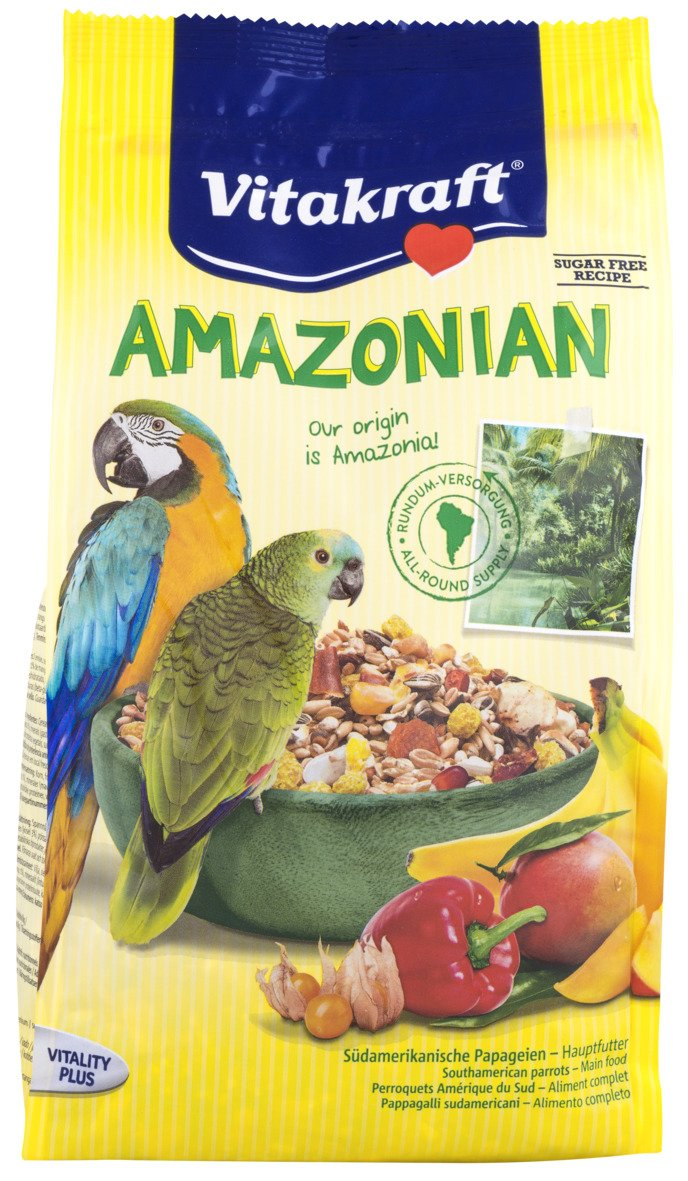 Amazon.com : Vitakraft Amazonian Parrot Bird Food 750g : Pet Food : Pet Supplies