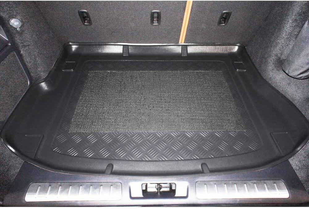 ZentimeX Z747130 Vasca baule su misura con superficie scanalata e integrato tappeto antiscivolo