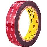 Double Sided Tape 3M VHB Mounting Tape 1 Inch x 18 Feet Length Heavy Duty Waterproof Black Foam Tape No Residue for Home Offi