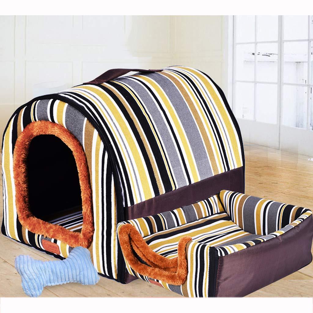926872cm Pet nest, four seasons universal Oxford cloth kennel, sofa bed, nest, stripes  9 sizes