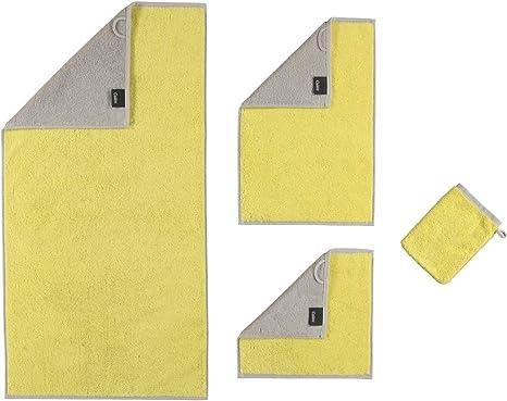 44 unidades, 50 x 100 cm color turquesa Caw/ö Home Unique Karo 942 Toalla de mano