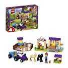 LEGO 41361 Friends Mia's Foal Stable Building Set, Mia mini-doll and Animal figures, Horse Barn and Toy Tractor, Farm Toys for Kids