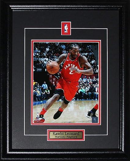 57411fe09d2a3 Kawhi Leonard Toronto Raptors 8x10 NBA Basketball Collector Frame (Action)