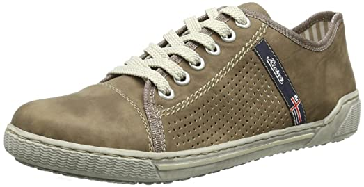 Rieker 42417, Zapatillas Mujer, Marrón (Loam/25), 36 EU