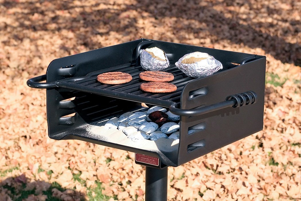 Pilot Rock Heavy-Duty Park-Style Grill - Model# H-16 B6X2 by Pilot Rock