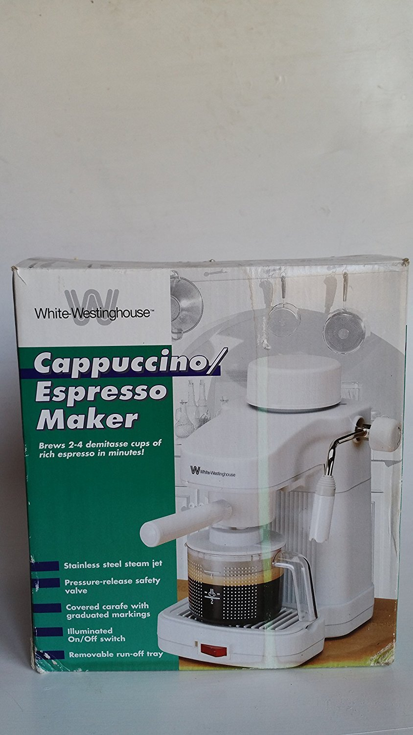 Cappuccino Espresso Maker by White Westinghouse