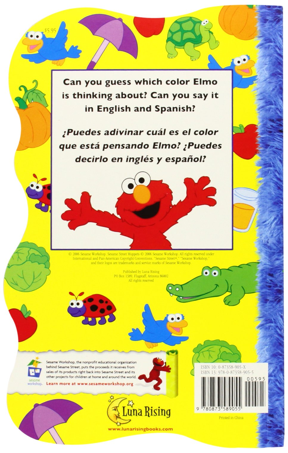 Game board colors - Amazon Com Elmo S Guessing Game About Colors Elmo Y Su Juego De Adivinar Los Colores Sesame Street Elmo S World Board Books English