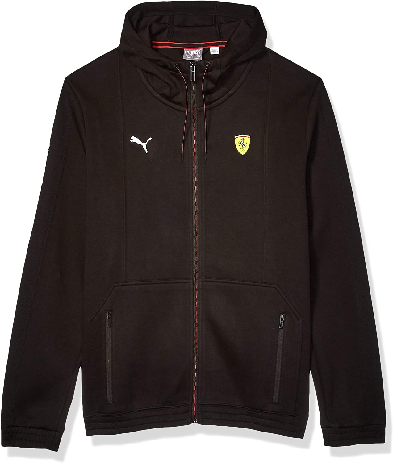 PUMA Formula 1 mens Scuderia Ferrari Hooded Sweat Jacket