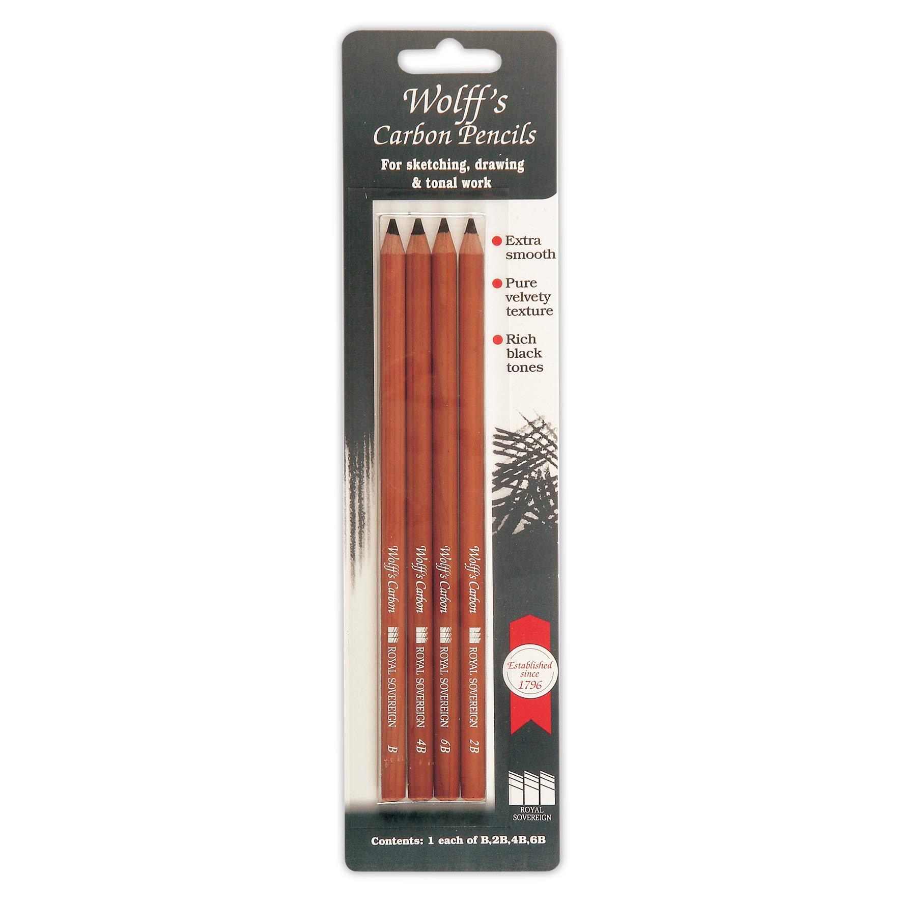Wolff's Carbon Pencil Set (442159)