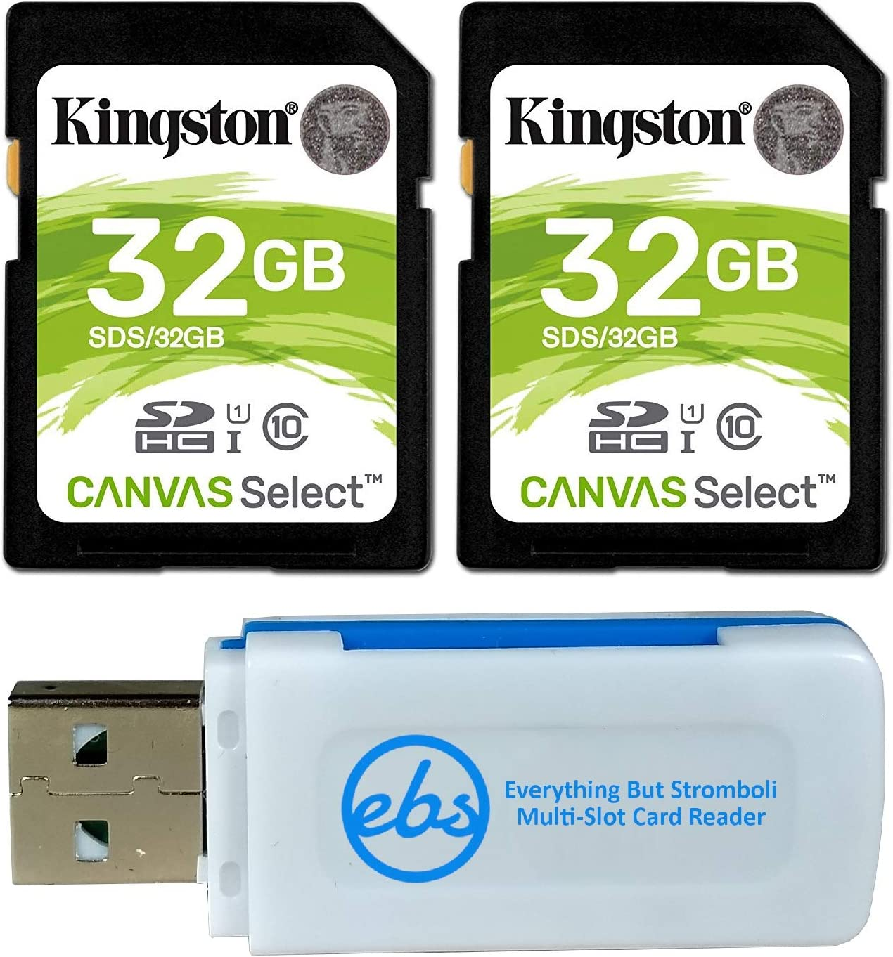 100MBs Works with Kingston Kingston 32GB Canon PowerShot SX230 HS Black MicroSDHC Canvas Select Plus Card Verified by SanFlash.