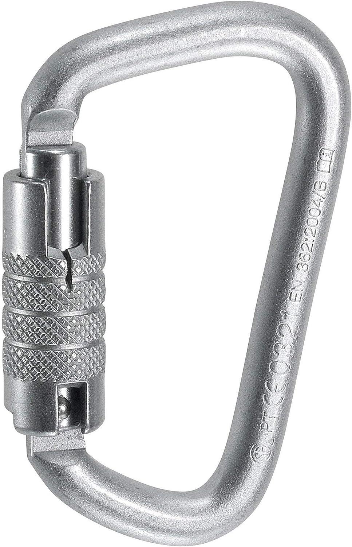"Steel 3600 lbs Capacity Locking Carabiner 3//4/"" Autolocking Gate"