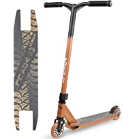 VOKUL TRII S1 Stunt Scooter Pro bis 64kg - 100mm PU Wheels mit Alu Core, Funscooter, Trickscooter, Freestyle-Roller