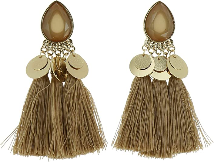 ELENA Boucles doreilles pendantes /à franges FASHIONGEN