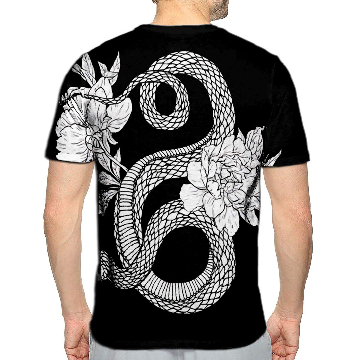 3D Printed T-Shirts Vintage Art Short Sleeve Tops Tees