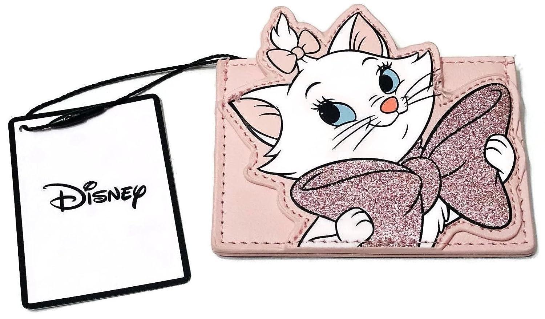 Disney Rosa Kartenetui Card Holder Primark Geldbörse Katze Glitzer