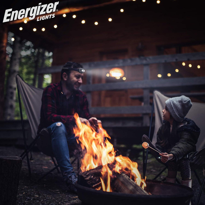 Midnight Black Energizer LED Headlamp Flashlight