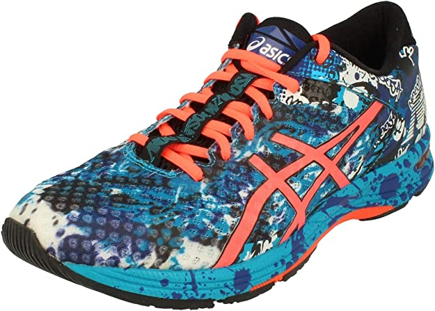 ASICS Gel-Noosa Tri 12 Road Running Shoe Herren Sneakers blau/orange/coral bunt
