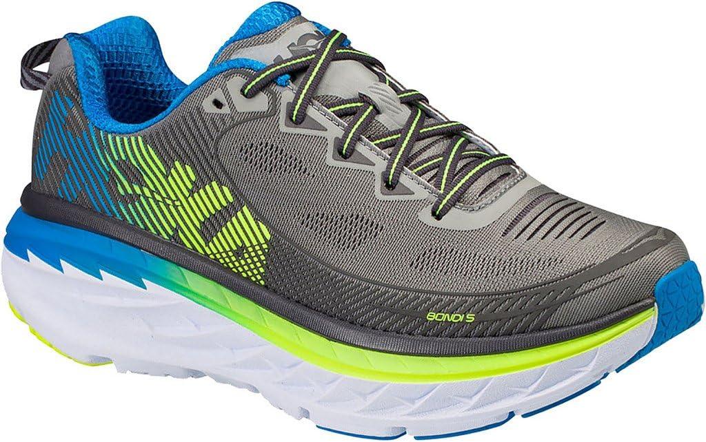 HOKA ONE ONE BONDI 5 - Zapatillas de running en color azul y gris ...