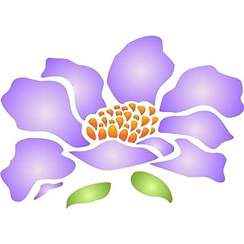 Flores Plantilla – reutilizable de pared plantillas para pintar – mejor calidad Mural decoración Ideas –