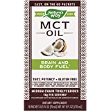 Nature's Way 100% Potency Pure Source MCT Oil from Coconut- On-The-Go Single-Serve Packets- Vegetarian, Gluten-Free…