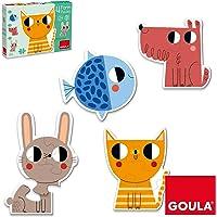 Goula- Form Conjunto de Puzzles Progresivos, Multicolor (53174)