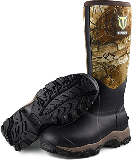 Amazon.com: TIDEWE Hunting Boot for Men, Insulated Waterproof Durable 16