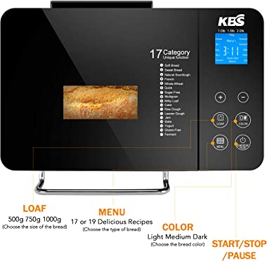 KBS Pro Stainless-Steel Bread Maker