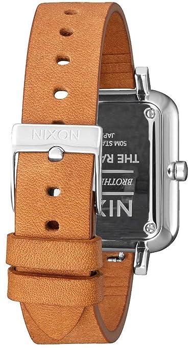 2312 Leder Nixon Armband Quarz Mit Herren 00Amazon Uhr Analog A985 IWDHE9be2Y