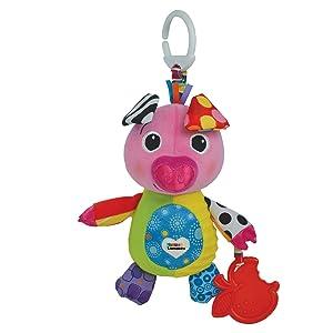 Lamaze Olly Oinker, Clip On Toy