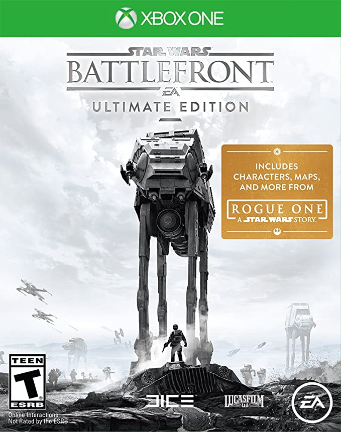Jogo Star Wars Battlefront Ultimate Edition Rogue One - Xbox One - Microsoft
