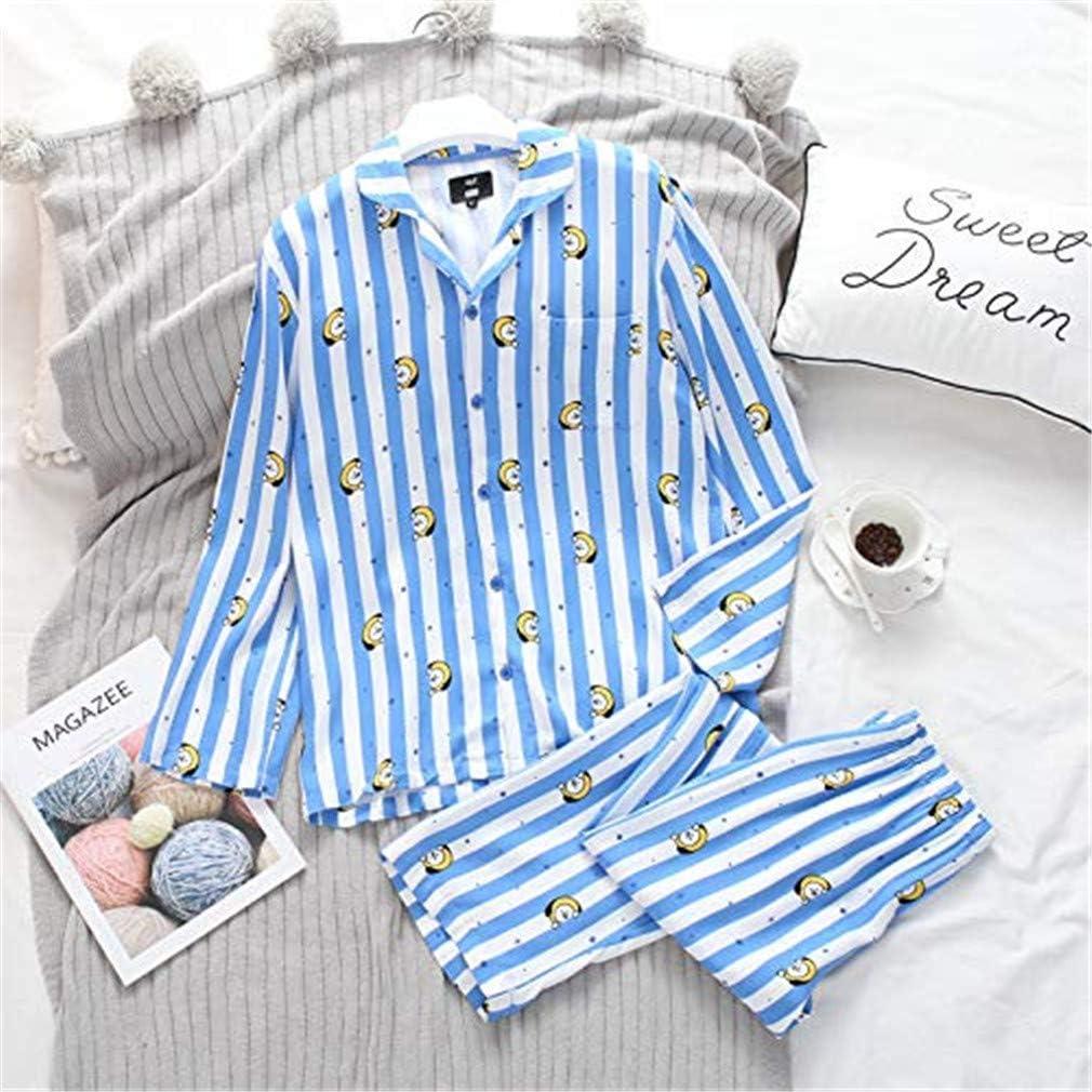 Silver Basic BTS Pigiama Shirt e Pants per Bambina Lungo Intero Tuta Due Pezzi