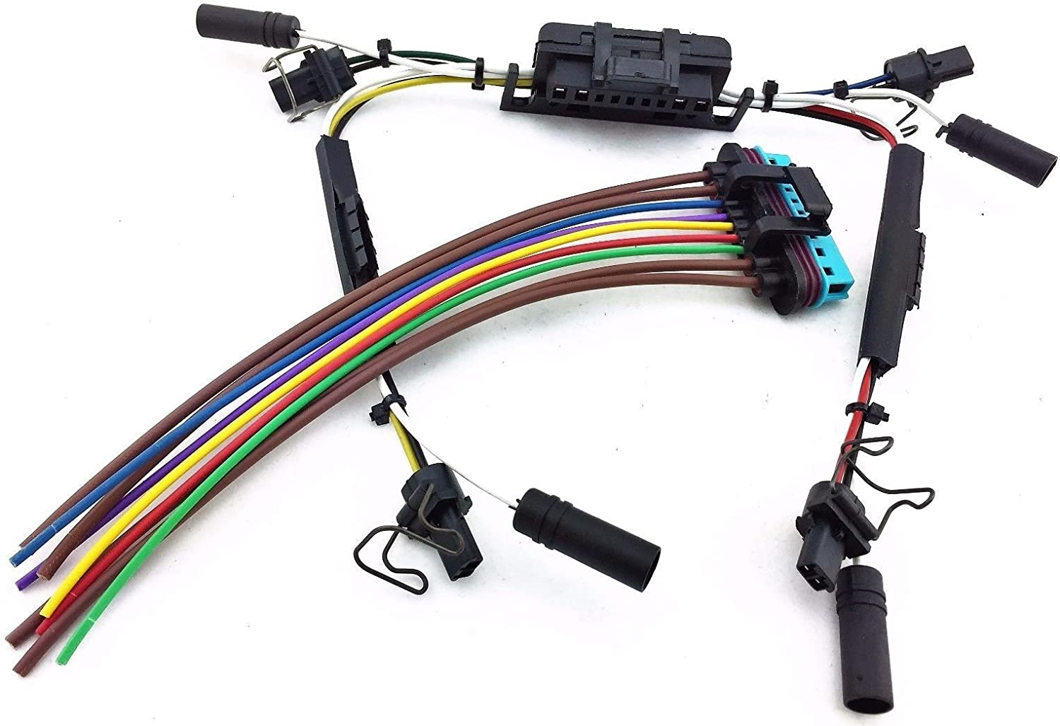 Amazon.com: GLOW PLUG & INJECTOR WIRE HARNESS PIGTAIL 7.3L 7.3 SuperDuty  for 1997-2003 FORD POWERSTROKE DIESEL V8: Automotive | 97 Powerstroke Valve Cover Wiring And Harness |  | Amazon.com