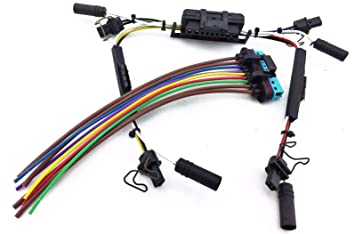 amazon com glow plug \u0026 injector wire harness pigtail 7 3l 7.3 powerstroke 42 pin connector diagram 7 3 powerstroke wiring diagram google