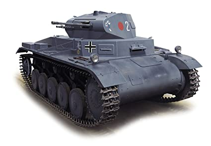 Dragon Models 1/35 Pz Kpfw II Ausf  A with Interior Smart Kit, Pots